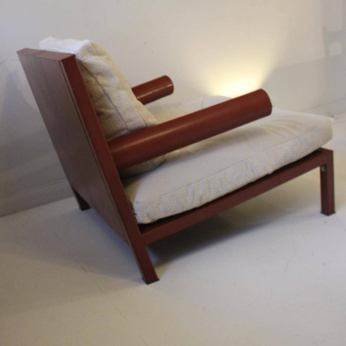 Vintage Oversized Baisity Leather Armchairantonio Citterio For inside Vintage Leather Armchairs (Image 25 of 30)