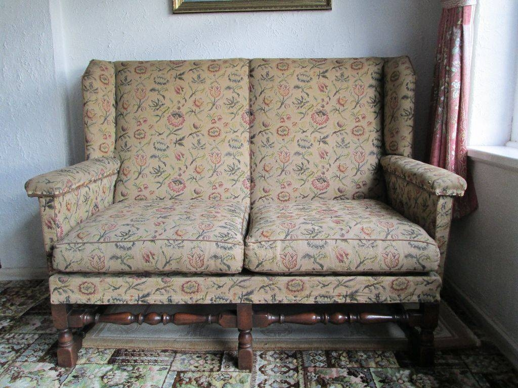 Vintage Parker Knoll Sofa 1930S Original Upholstery | In Stoke-On intended for 1930S Couch (Image 29 of 30)