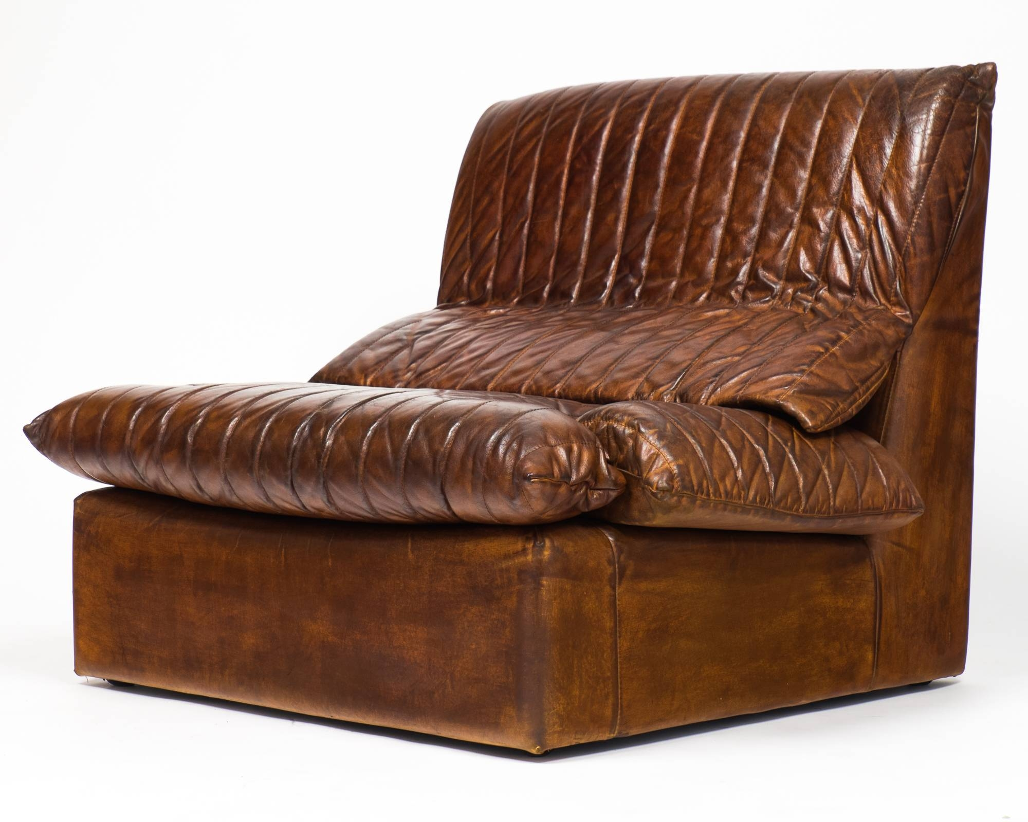Vintage Roche Bobois Leather Armchairs - Jean Marc Fray throughout Vintage Leather Armchairs (Image 27 of 30)