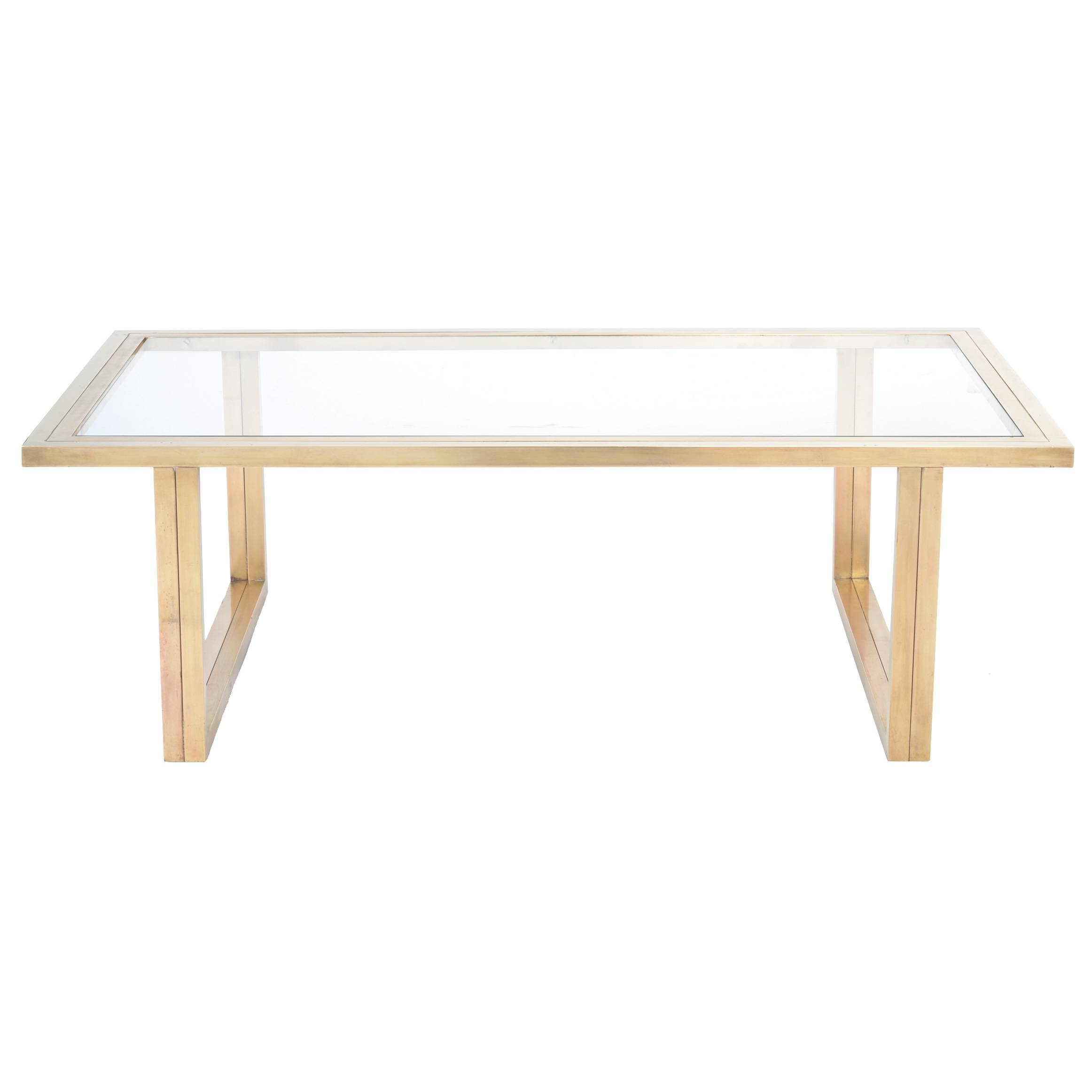 37 Best Antique Brass Glass Coffee Tables