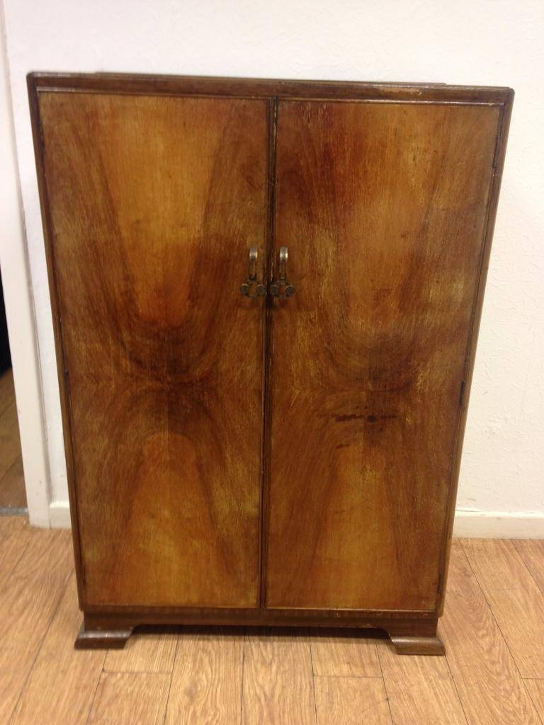 Vintage Small Wardrobe/tallboy | In Kirkintilloch, Glasgow | Gumtree in Small Tallboy Wardrobes (Image 13 of 15)