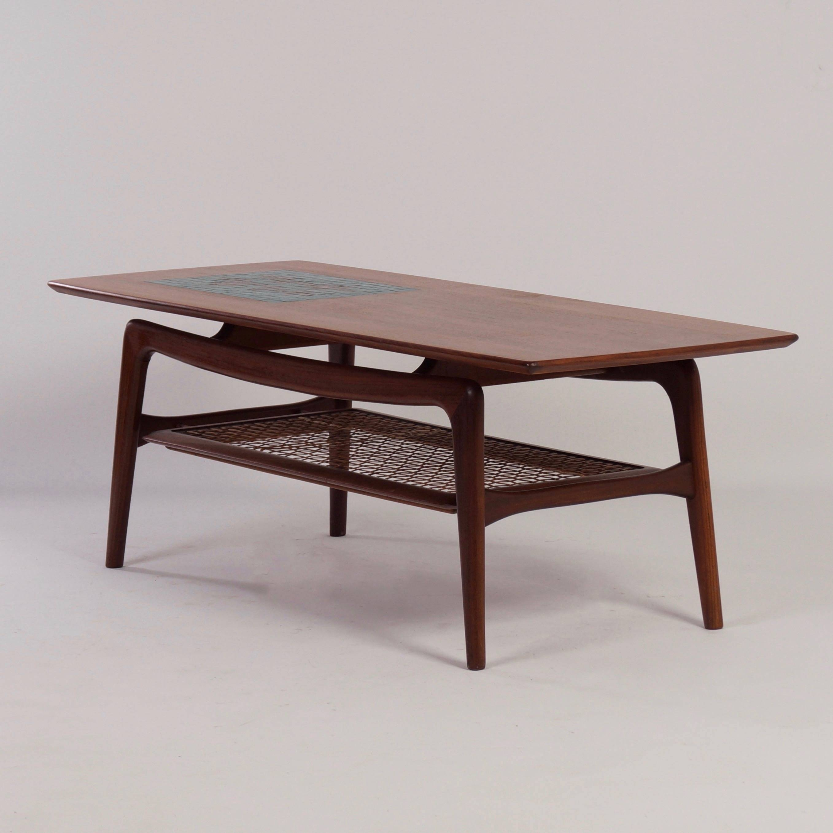 Vintage | Teak Coffee Tablelouis Van Teeffelen For Wébé, 1960S regarding Sixties Coffee Tables (Image 30 of 30)