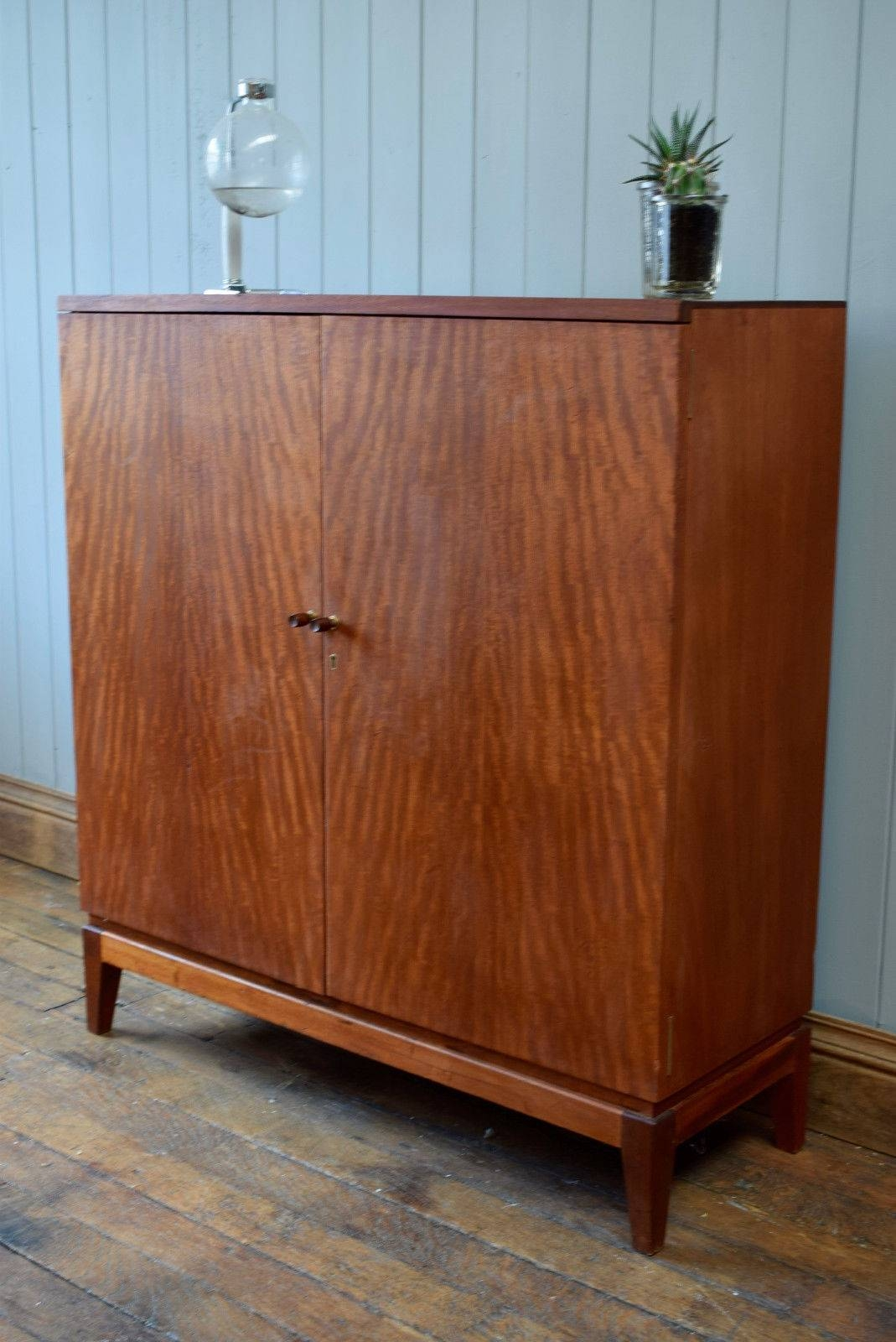 Vintage Teak Thin Cabinet | Vinterior throughout Thin Sideboards (Image 30 of 30)