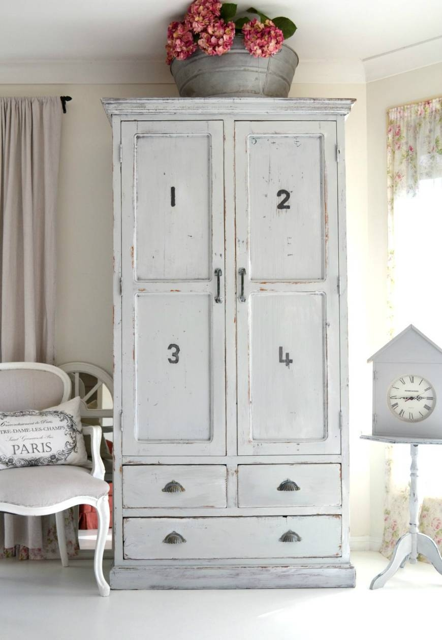 Vintage Wardrobes For Kids You Will Fall In Love With – Kids with White Vintage Wardrobes (Image 13 of 15)
