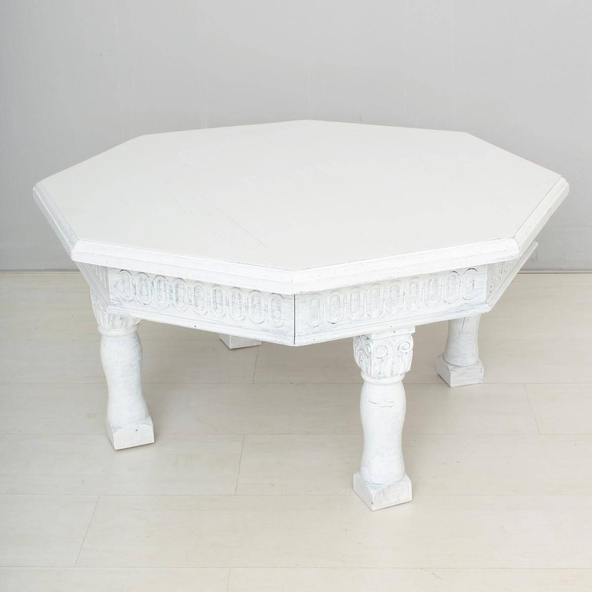 Vintage White Coffee Table For Sale At Pamono intended for Retro White Coffee Tables (Image 29 of 30)