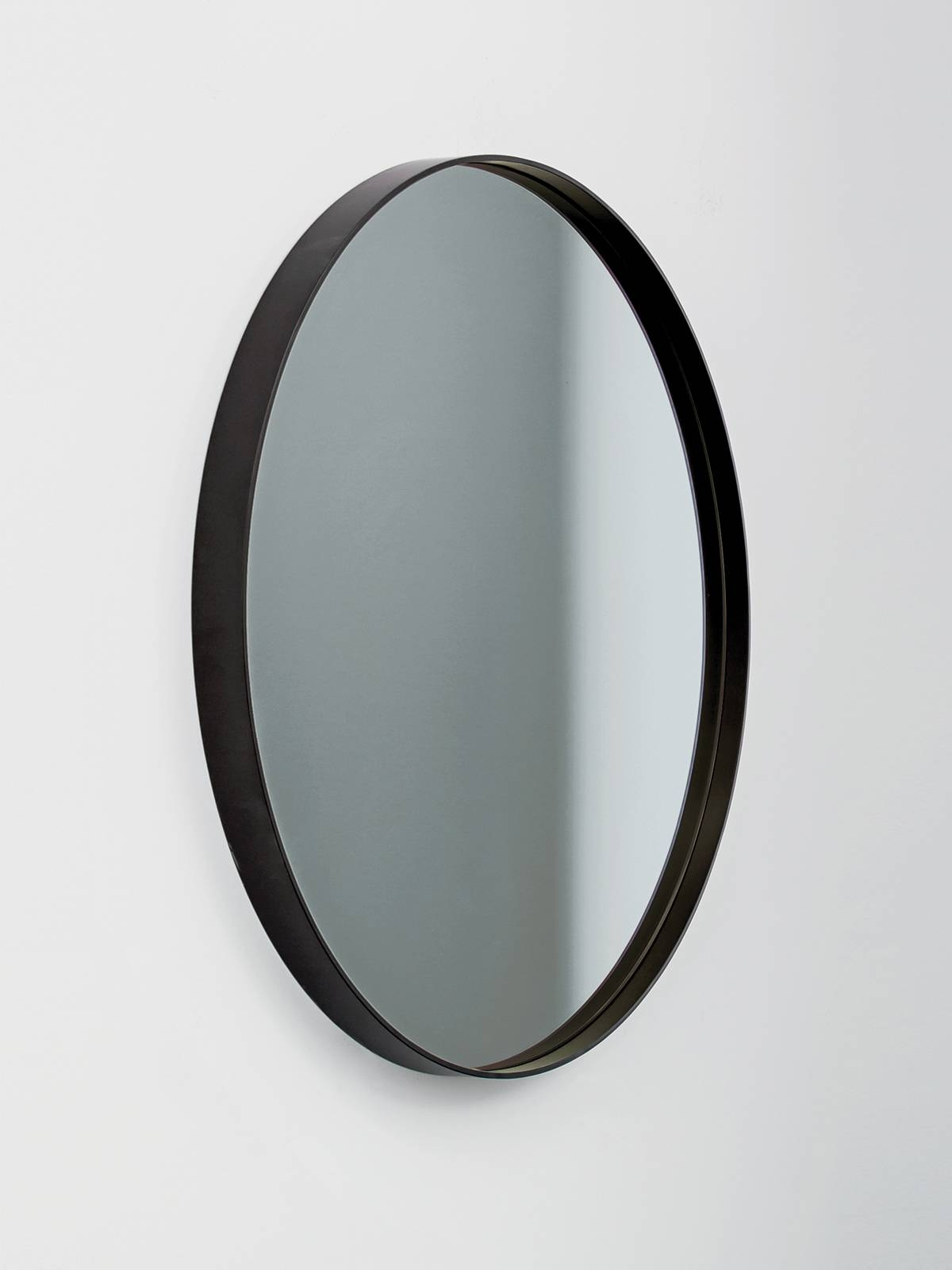 Visual - Circular Framed Mirror - Bronz, Gold, Grey And Rose with regard to Black Circle Mirrors (Image 23 of 25)