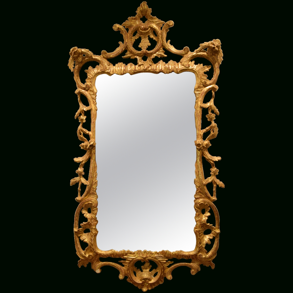 Viyet - Designer Furniture - Accessories - Antique Wall Mirror regarding Antiqued Wall Mirrors (Image 24 of 25)