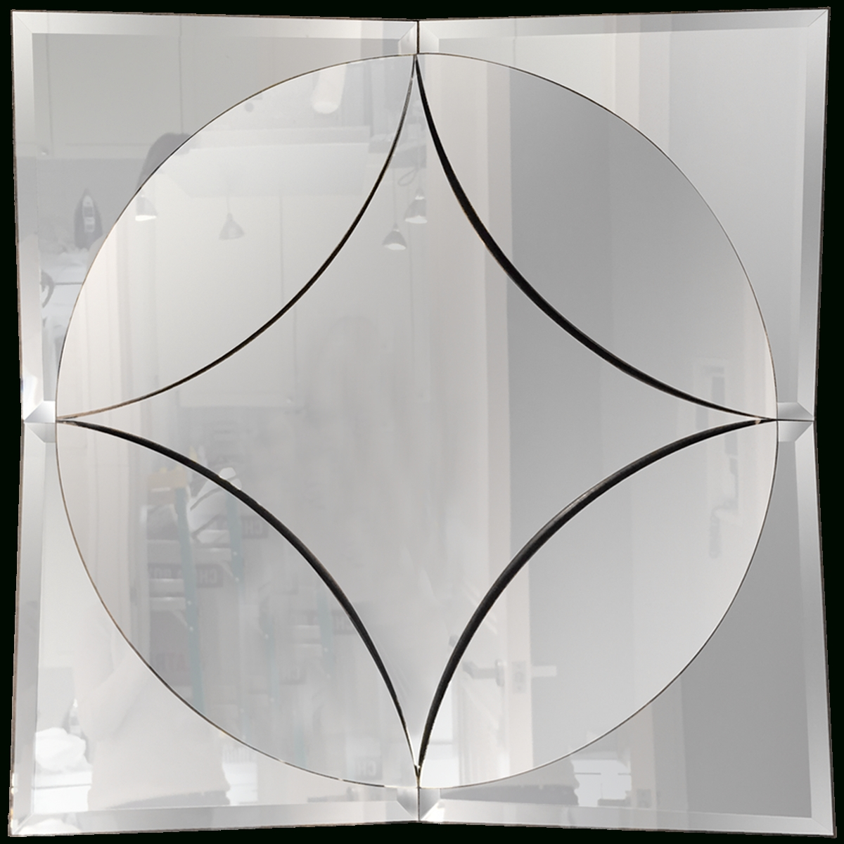 Viyet – Designer Furniture – Accessories – Vintage Art Deco Mirror Pertaining To Original Art Deco Mirrors (View 14 of 25)