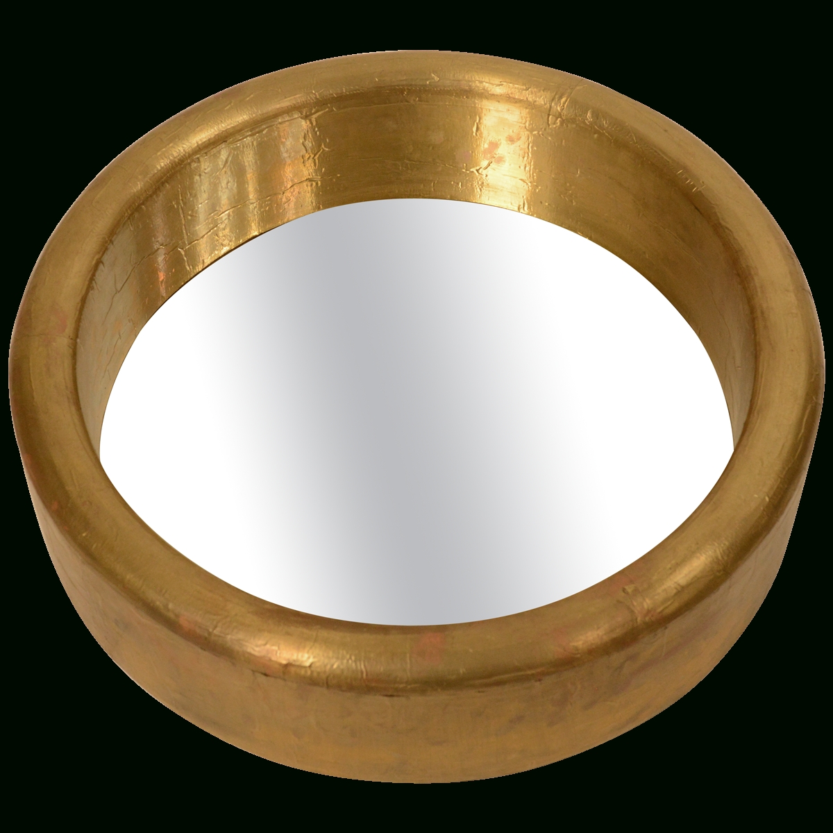 Viyet - Designer Furniture - Accessories - Vintage Brass Foil throughout Porthole Style Mirrors (Image 25 of 25)