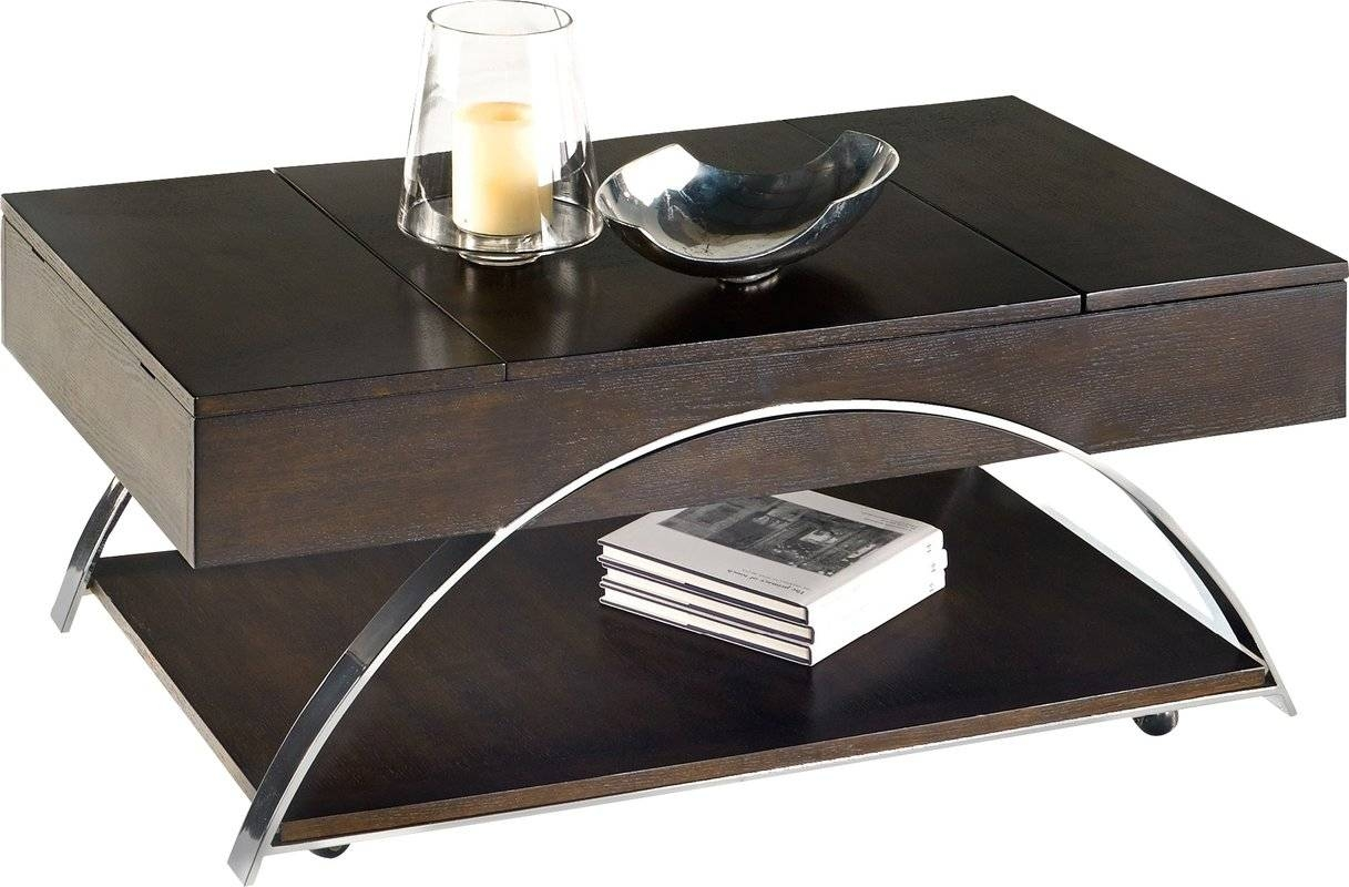 Wade Logan Tyler Coffee Table With Lift Top & Reviews | Wayfair inside Logan Lift Top Coffee Tables (Image 29 of 30)