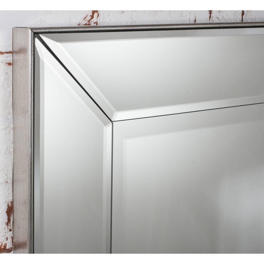 Wall Mirror: Baskin Mirror Silver | Select Mirrors Regarding Silver Mirrors (View 25 of 25)