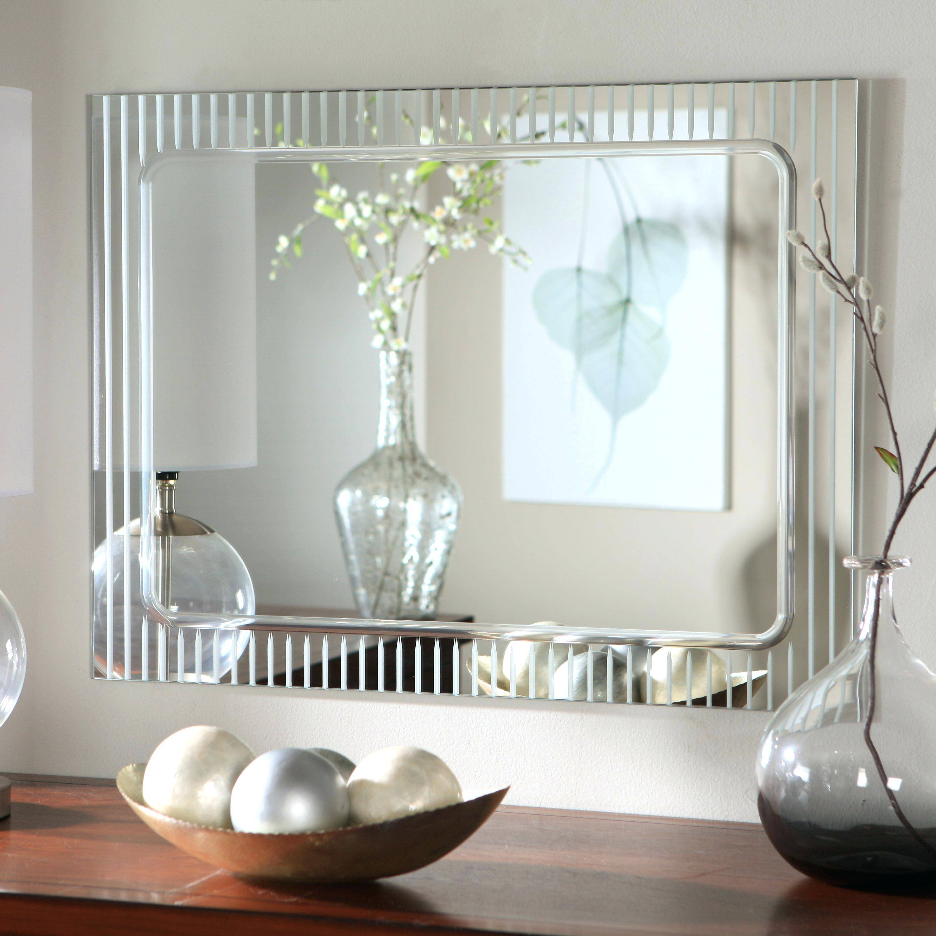 Wall Mirrors A Hotel Bathroom Mirror Floor Mirrorlarge Decorative with regard to White Decorative Mirrors (Image 24 of 25)