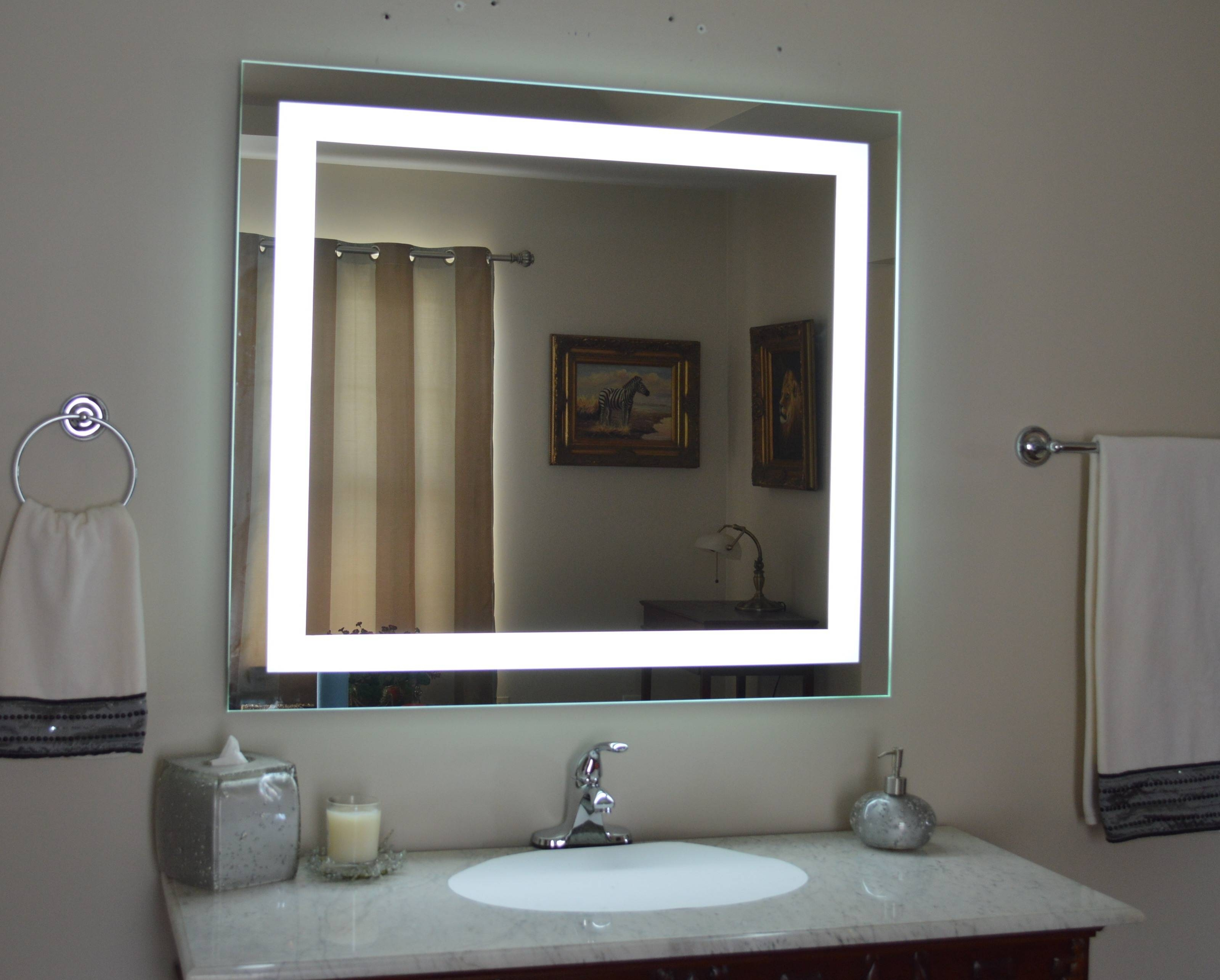 Wall Mirrors For Sale - Vanity Units For Bathrooms | Mirrors & Marble in Illuminated Dressing Table Mirrors (Image 25 of 25)