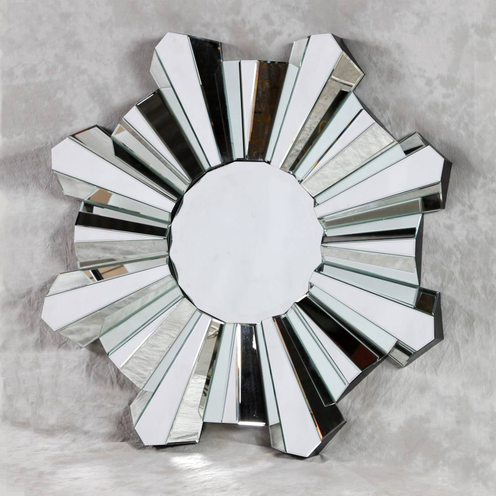 Wall Mirrors - Nicholas John Interiors with Art Deco Venetian Mirrors (Image 25 of 25)
