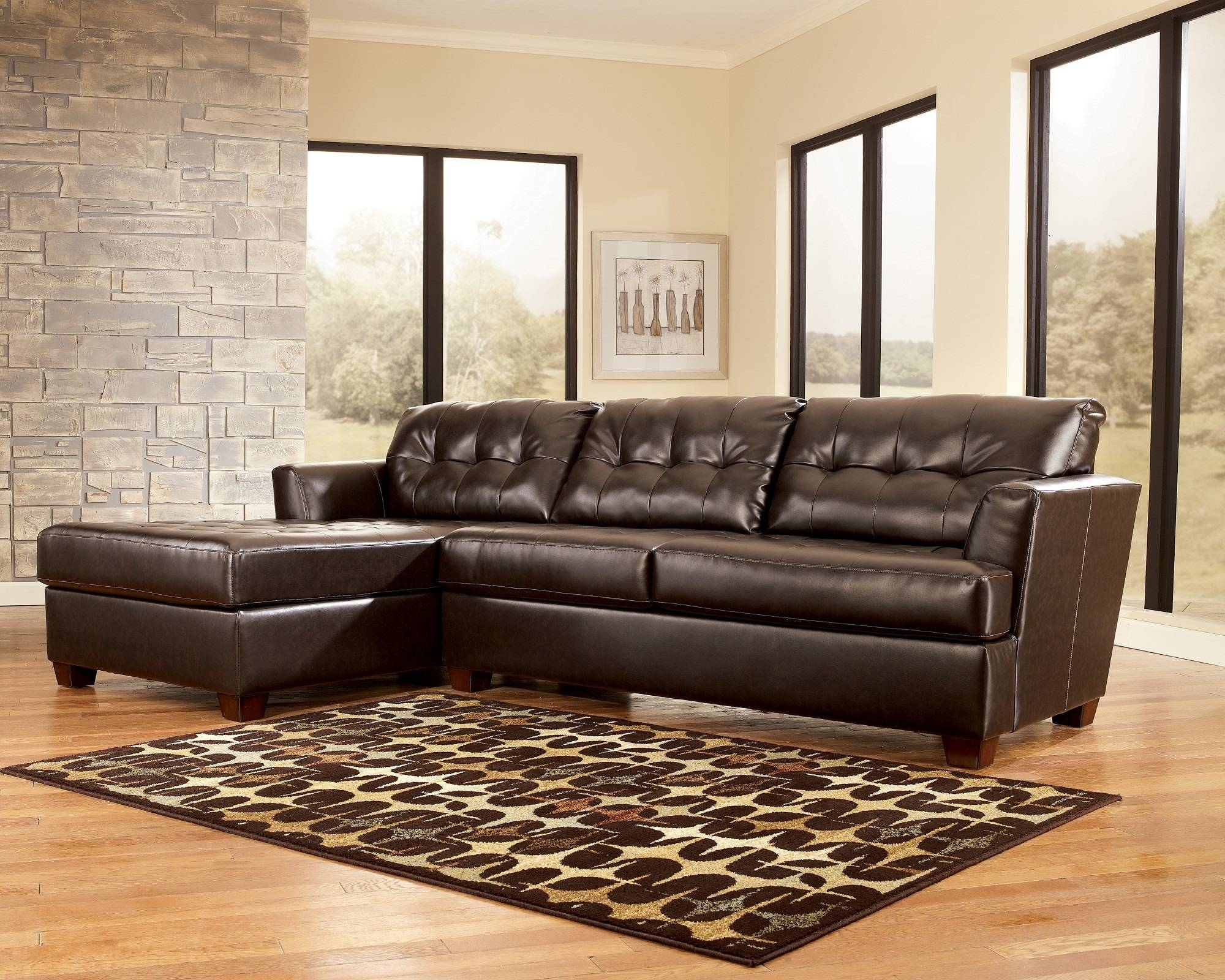 Walls-Interiors - Part 50 with regard to Black Leather Sectional Sleeper Sofas (Image 28 of 30)