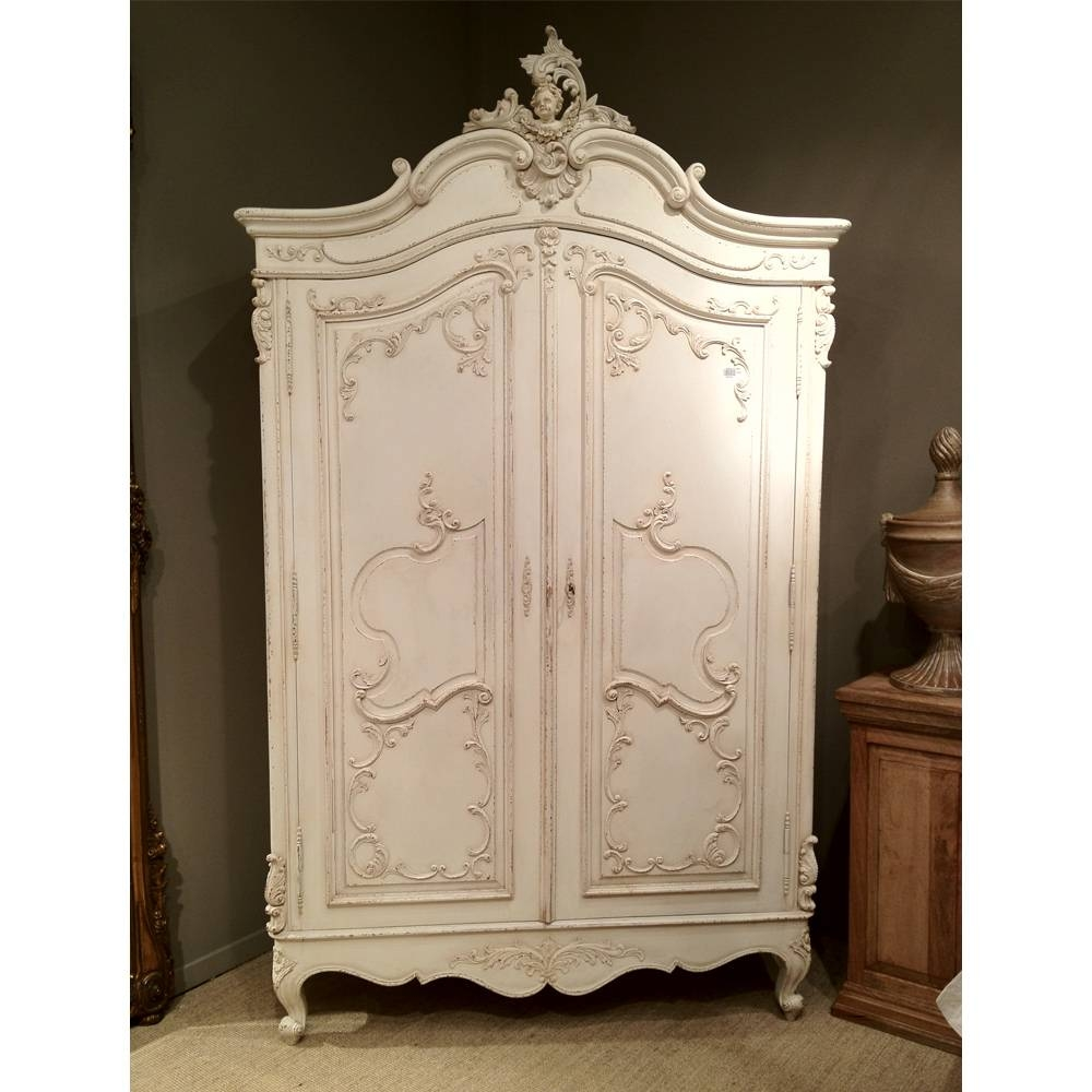 Walmart Wardrobe Antique Armoire Identification Artistic Bedroom for Antique Style Wardrobes (Image 15 of 15)