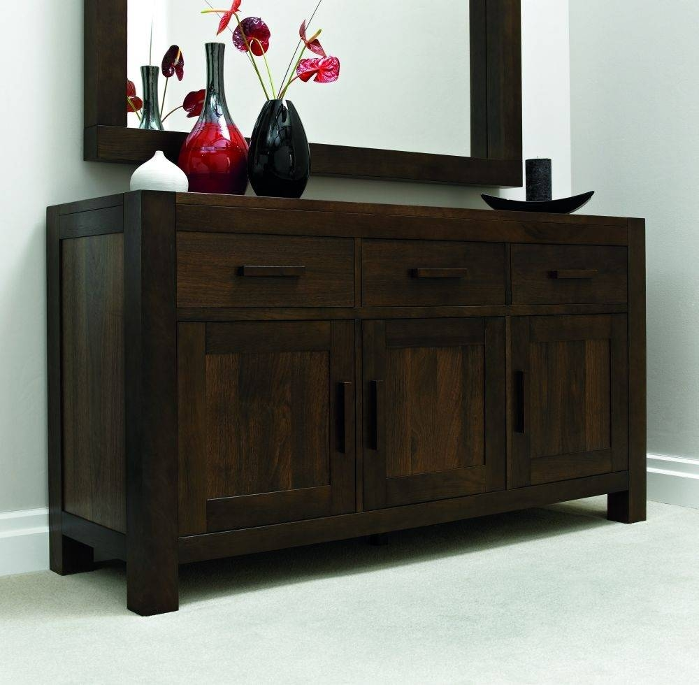 Walnut 160Cm Sideboard - Keens Furniture with Fully Assembled Sideboards (Image 30 of 30)