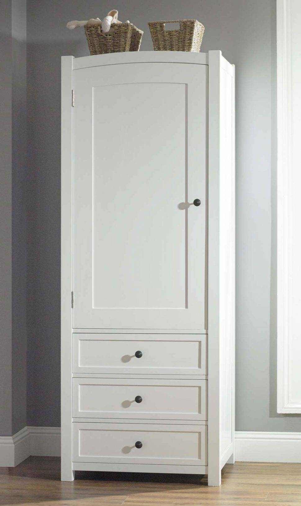 Wardrobe : 39 Formidable White Wooden Wardrobe With Drawers Photo throughout White Wardrobes With Drawers (Image 13 of 15)