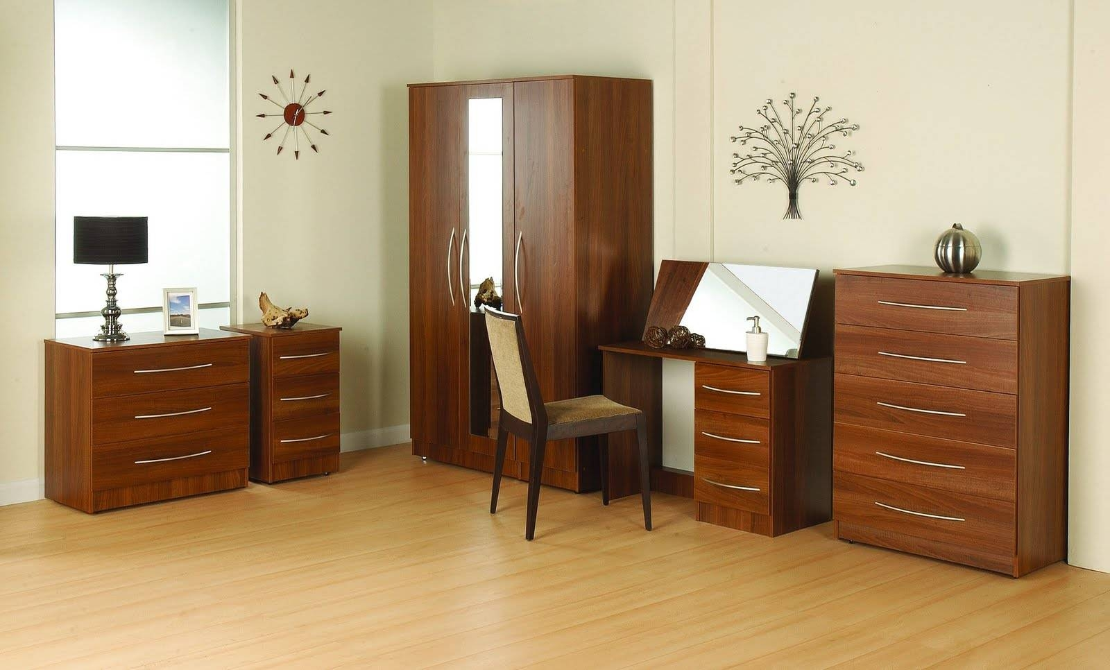 Wardrobe : Cream And Dark Wood Wardrobe Dark Wood Wardrobe With for Dark Wood Wardrobe Cheap (Image 20 of 30)
