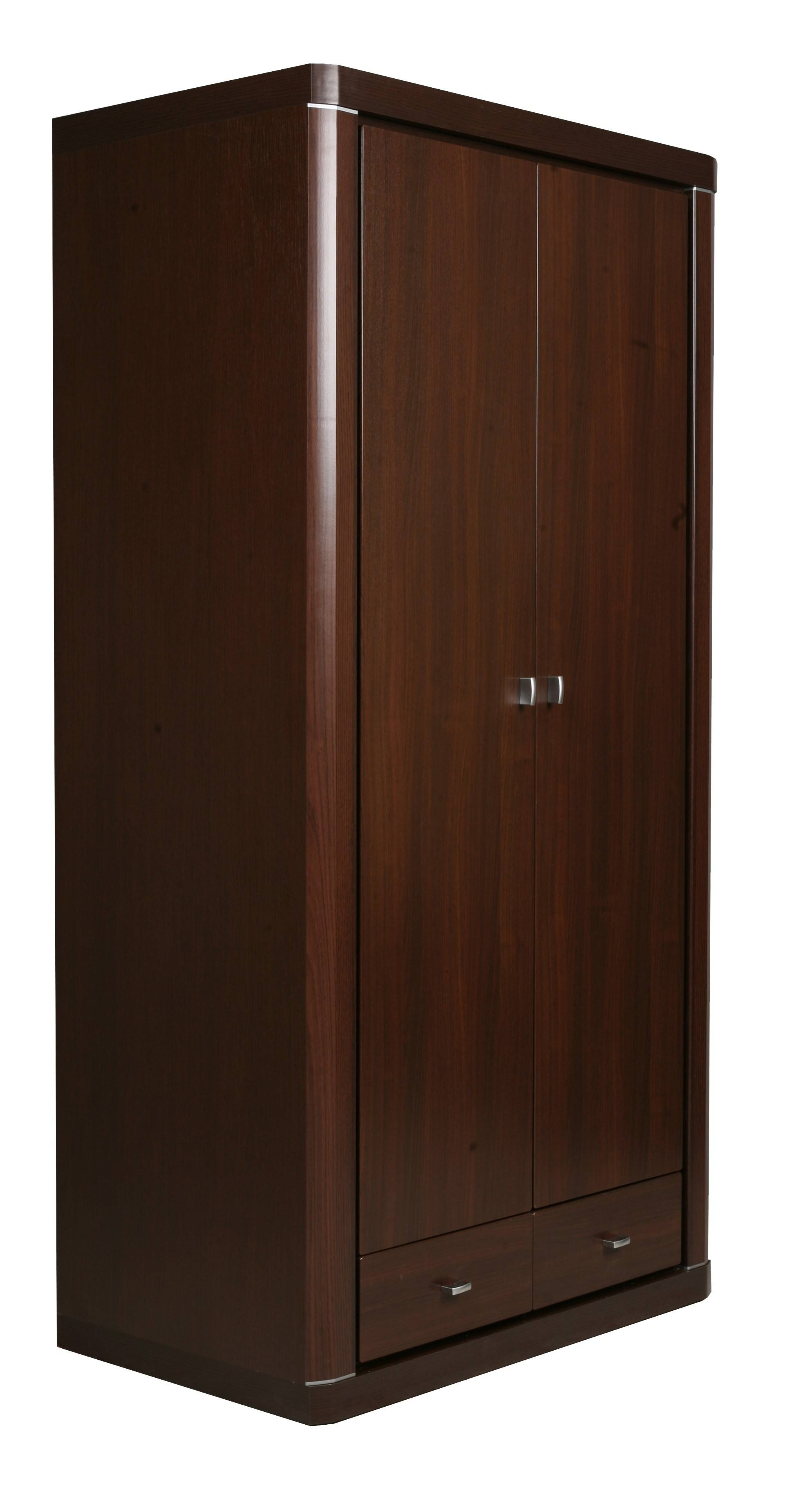 Featured Photo of Dark Wood Wardrobe With Drawers