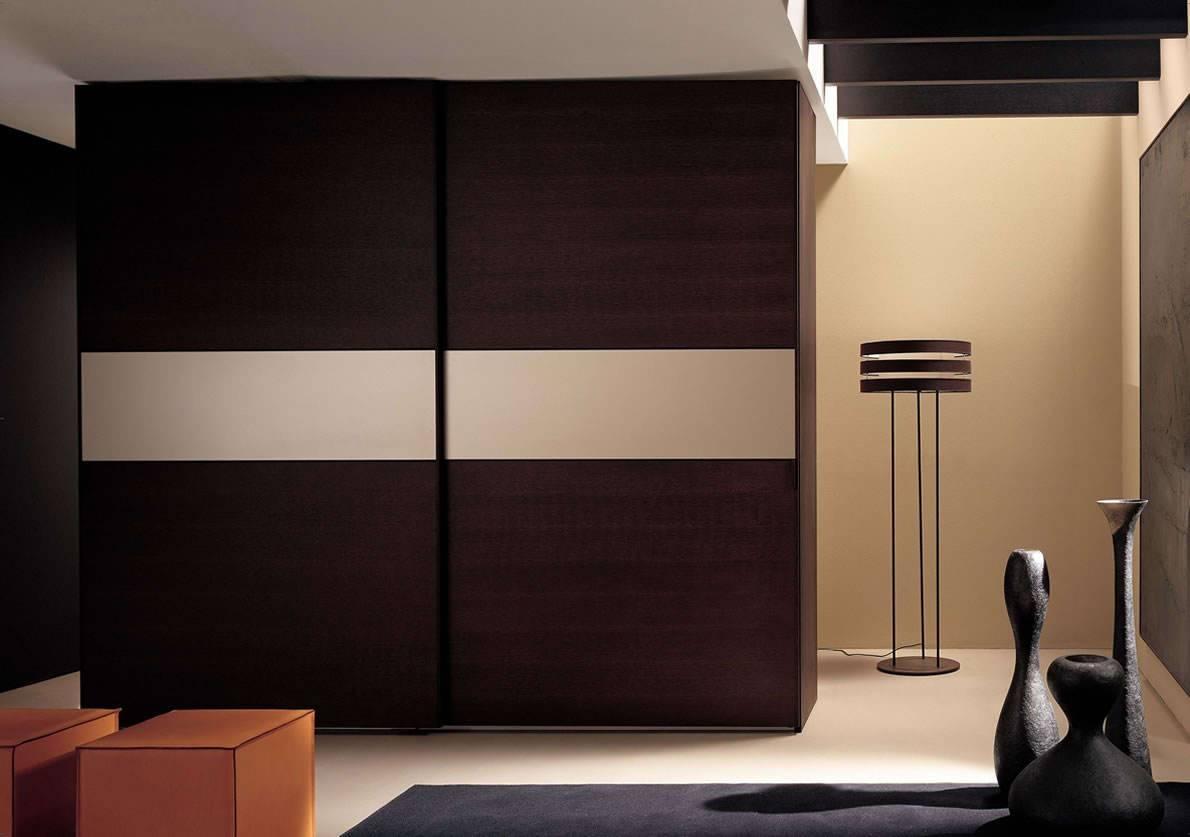 Featured Photo of Dark Wood Wardrobe Doors