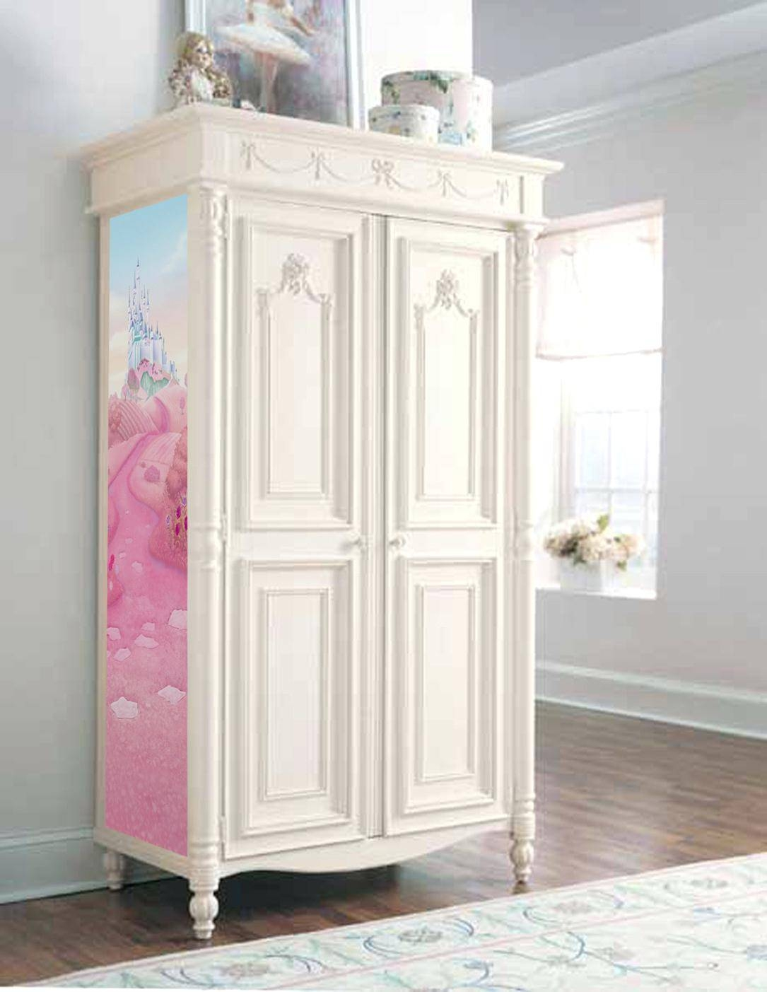 Wardrobe Or Armoire Disney Princess Musical Jewelry 30 Inches Wide throughout The Princess Wardrobes (Image 15 of 15)