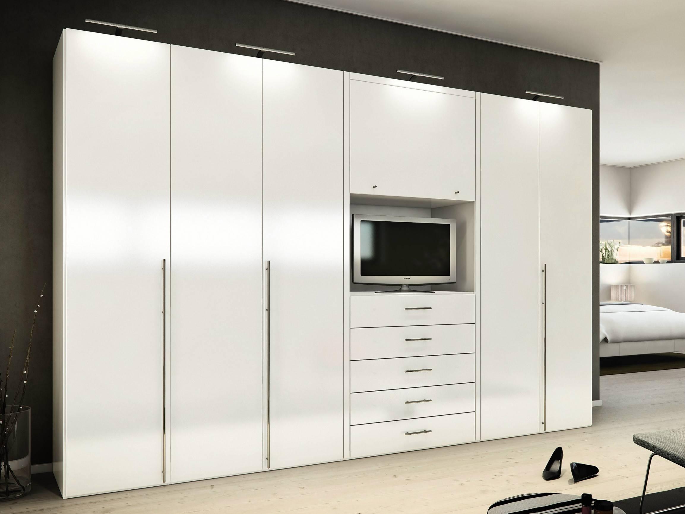 Wardrobe : White Wardrobe Closet With Sliding Doors Small White inside Cheap Wooden Wardrobes (Image 12 of 15)
