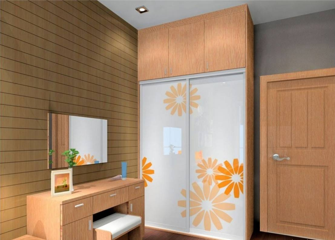 Wardrobe With Dressing Table. More Views. Antijump Sliding for Wardrobes And Dressing Tables (Image 13 of 15)