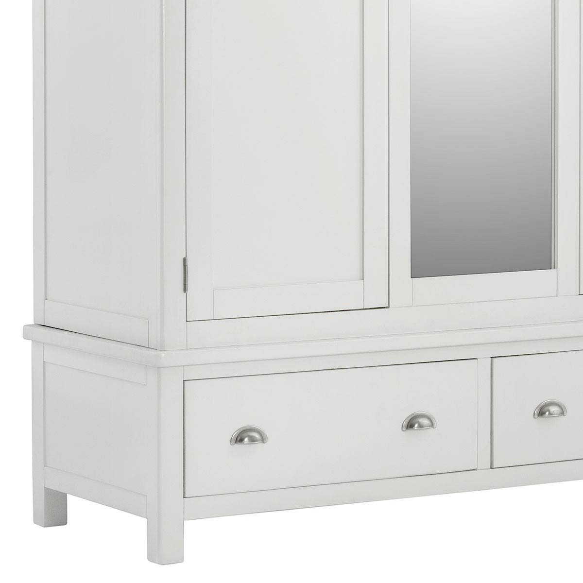 Wardrobe With Mirror. Click To Zoom Inout. 6 Door Wardrobe With within Triple Mirrored Wardrobes (Image 10 of 15)