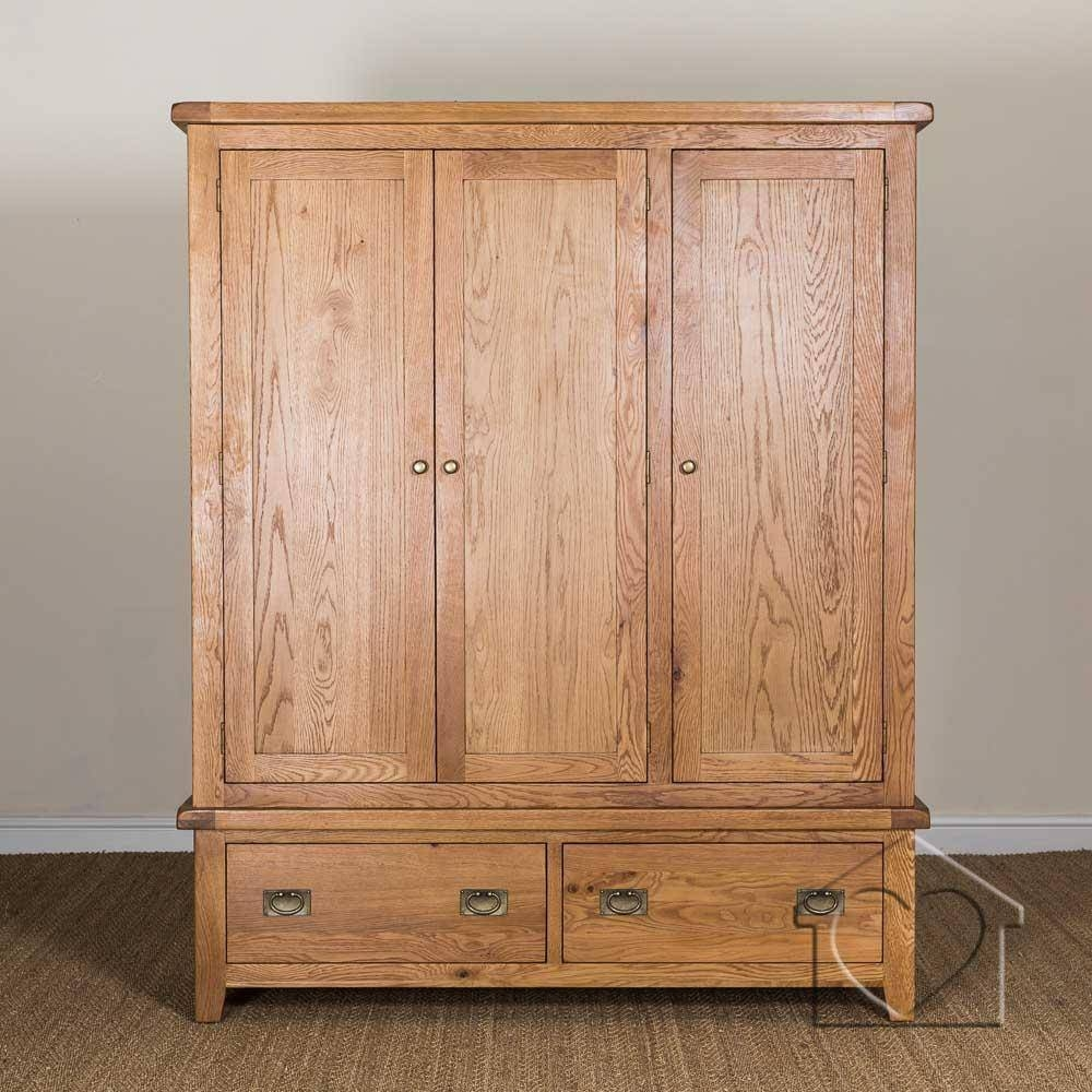 Wardrobes - A Great Range Of Wardrobes From Listers Interiors within Oak Wardrobes (Image 14 of 15)