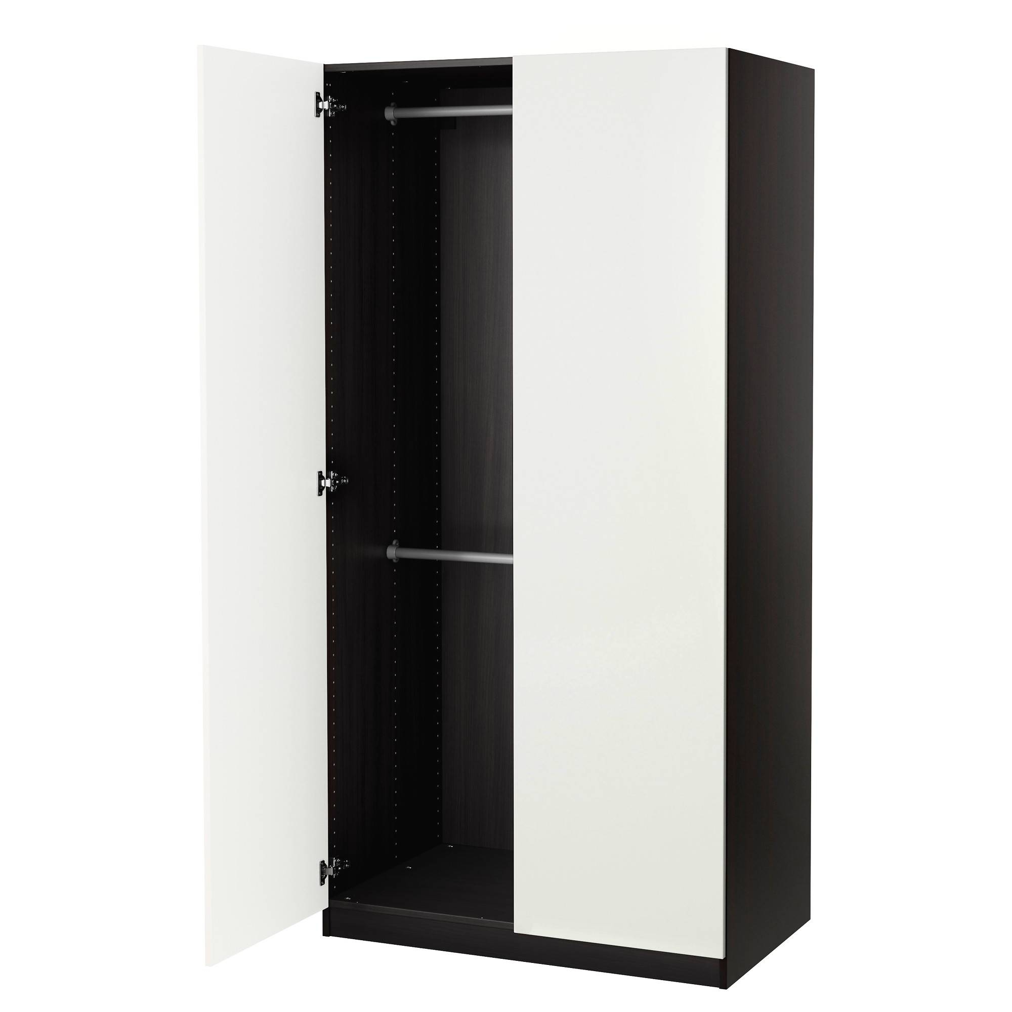 Wardrobes, Armoires & Closets - Ikea in Cheap Black Wardrobes (Image 13 of 15)