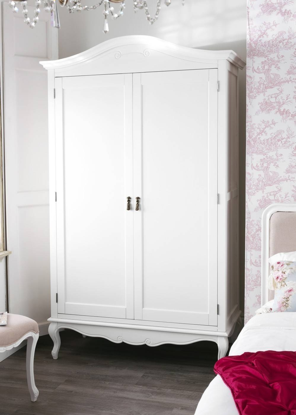 Wardrobes | Bedroom Furniture Direct within Double Rail White Wardrobes (Image 15 of 21)