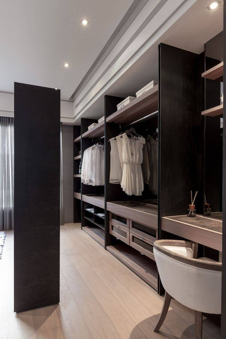 Wardrobes #closet #armoire Storage, Hardware, Accessories For within Dark Wood Wardrobes Armoires (Image 26 of 30)