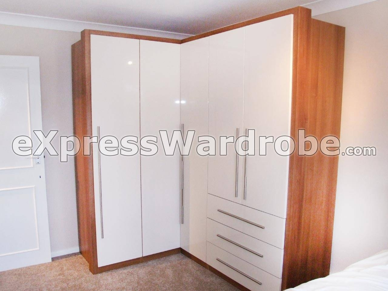 Wardrobes | Flat Pack Wardrobes | Sliding Door Wardrobes | Free Throughout 2 Door Corner Wardrobes (View 14 of 15)