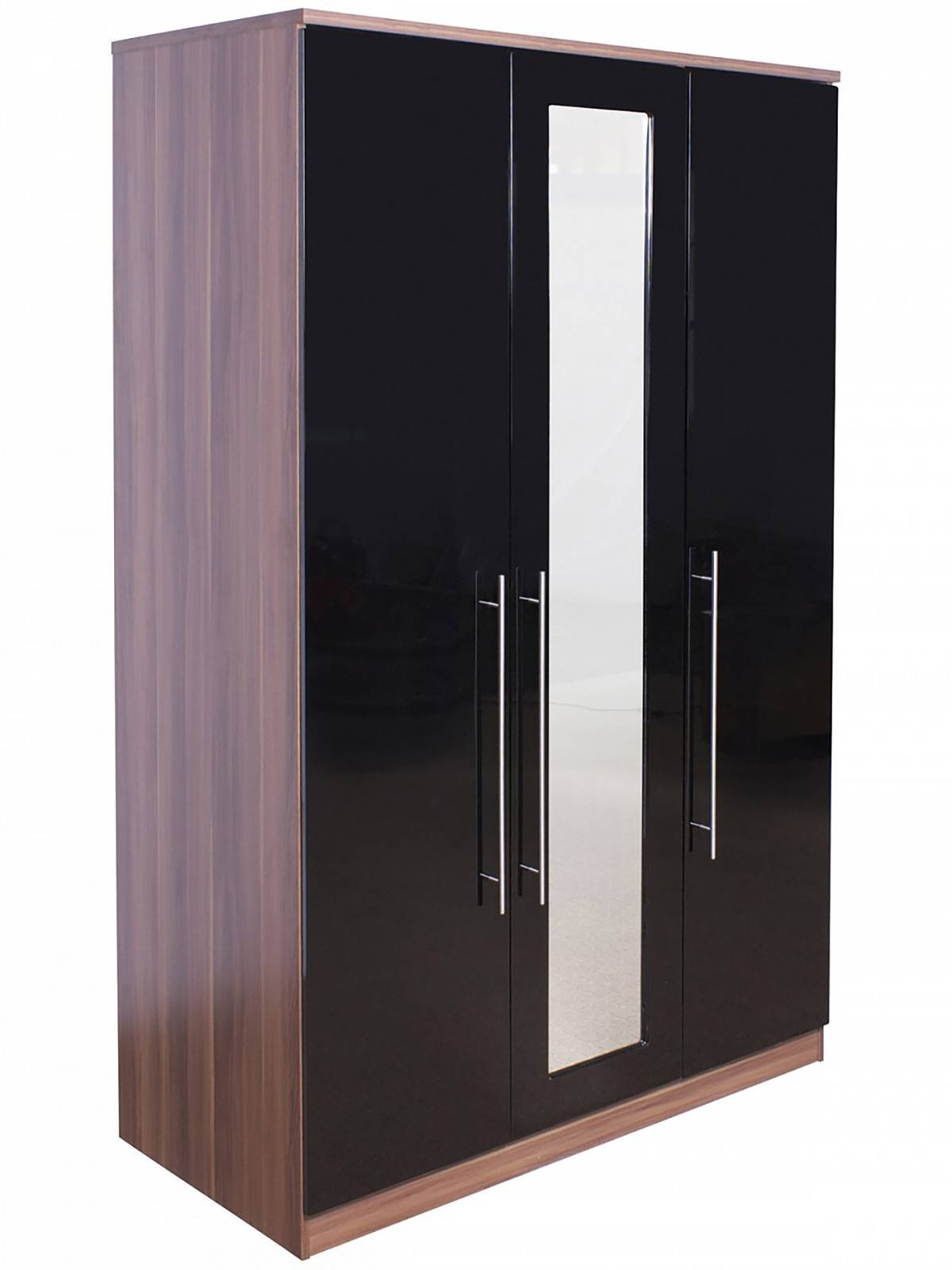 Wardrobes - Furniture - Bedroom pertaining to 3 Door Black Wardrobes (Image 14 of 15)