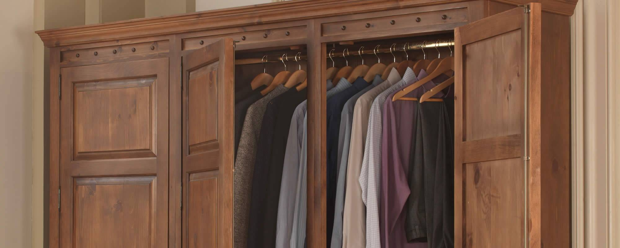 Wardrobes – Hand Built In Solid Woodbritish Craftsmen Intended For Solid Wood Built In Wardrobes (View 28 of 30)