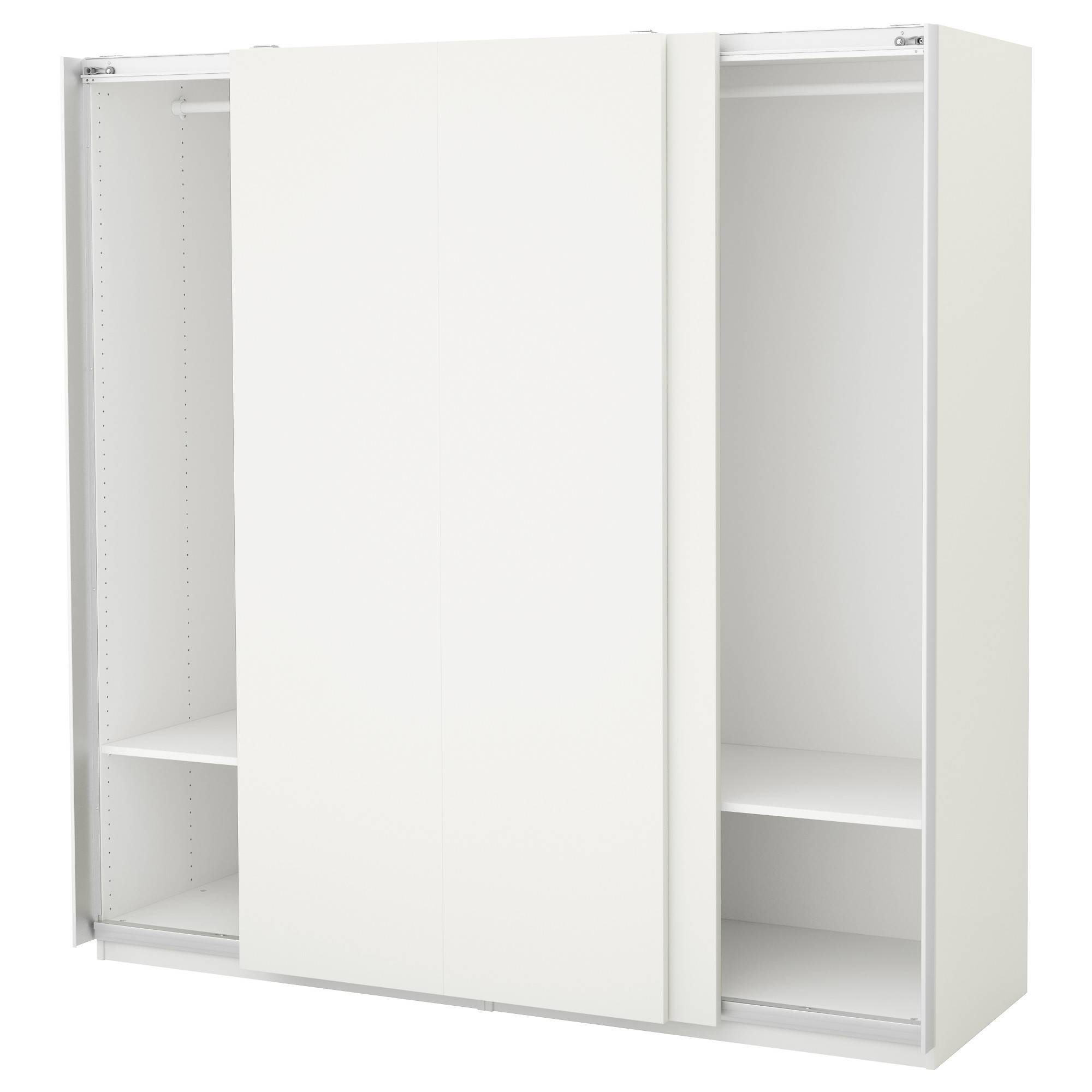 Wardrobes | Ikea for White Wood Wardrobes (Image 12 of 15)