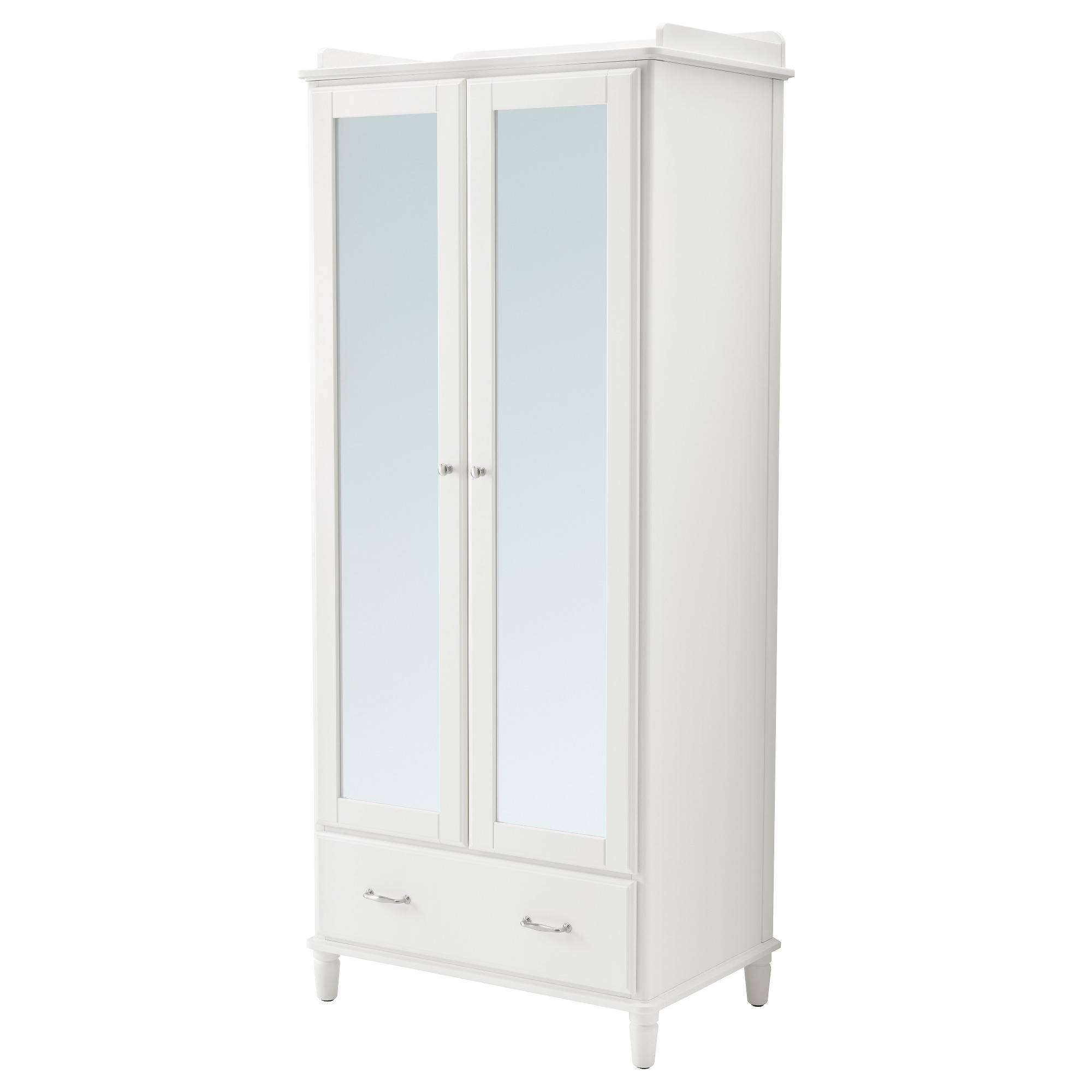 Wardrobes | Ikea in White Double Wardrobes With Drawers (Image 14 of 15)