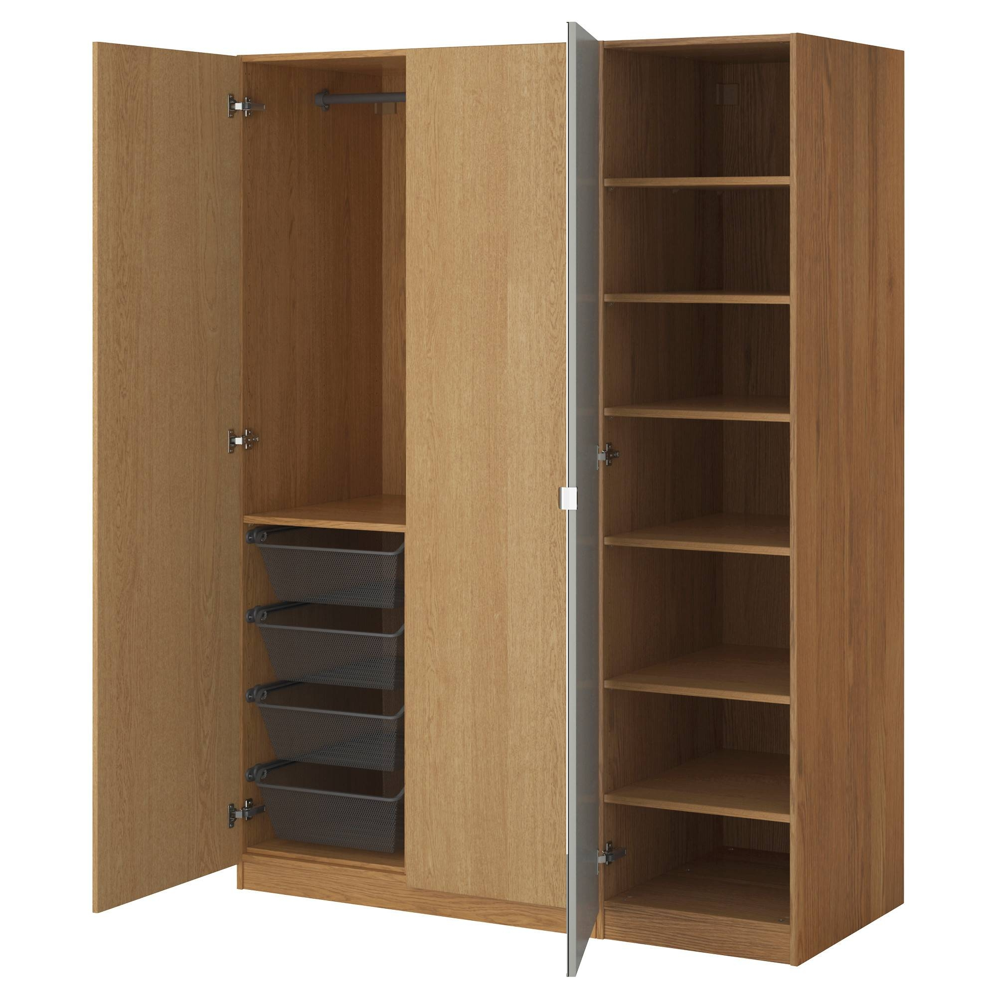 Wardrobes | Ikea With Black Wood Wardrobes (View 4 of 15)