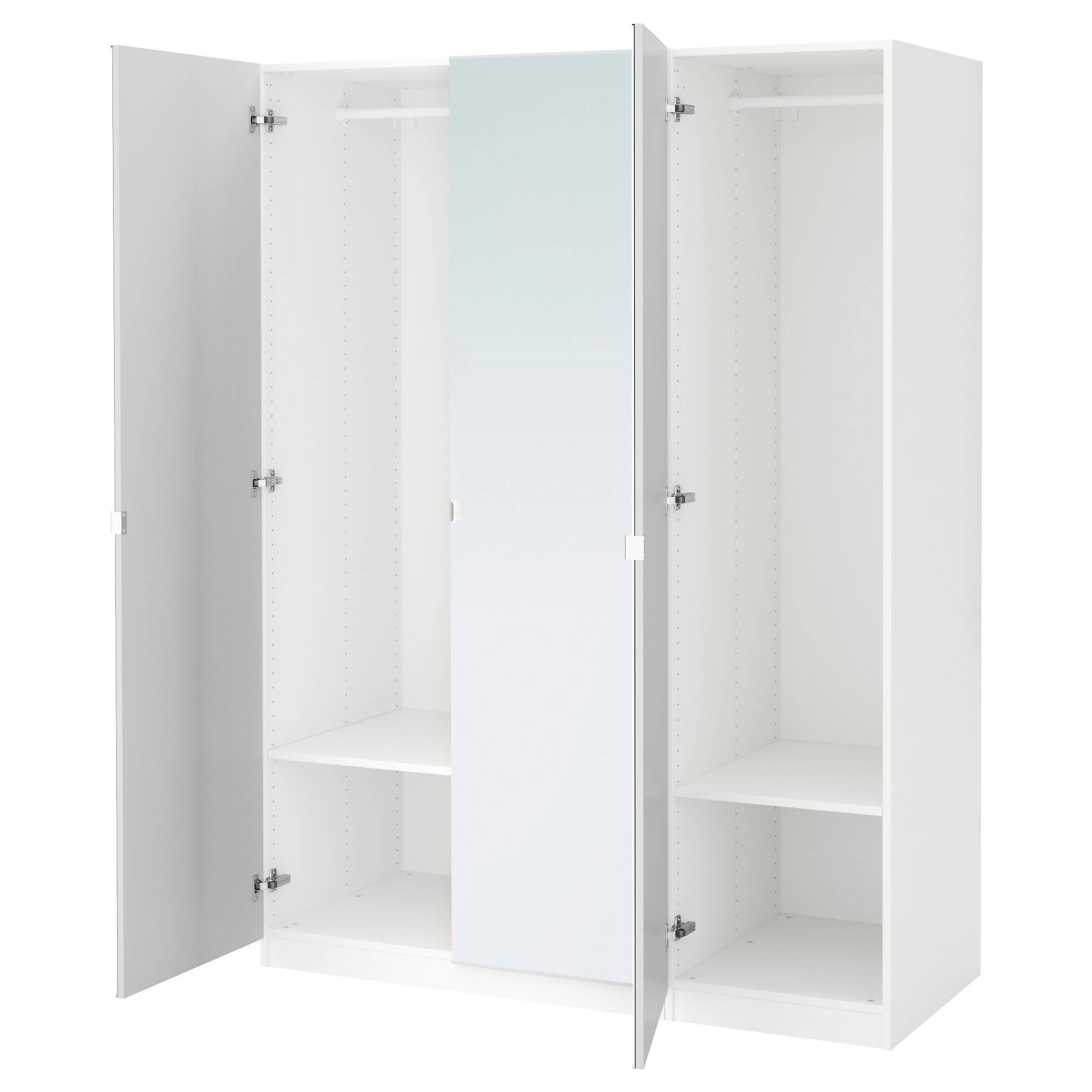 Wardrobes | Ikea within Double Rail Wardrobe (Image 28 of 30)