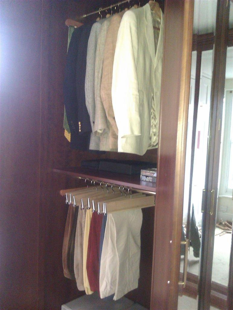 Wardrobes intended for Double Rail Wardrobe (Image 25 of 30)
