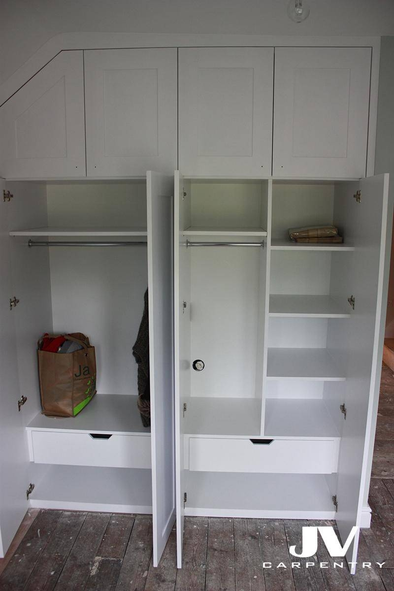 Wardrobes Interior Layouts | Jv Carpentry pertaining to Drawers And Shelves For Wardrobes (Image 27 of 30)