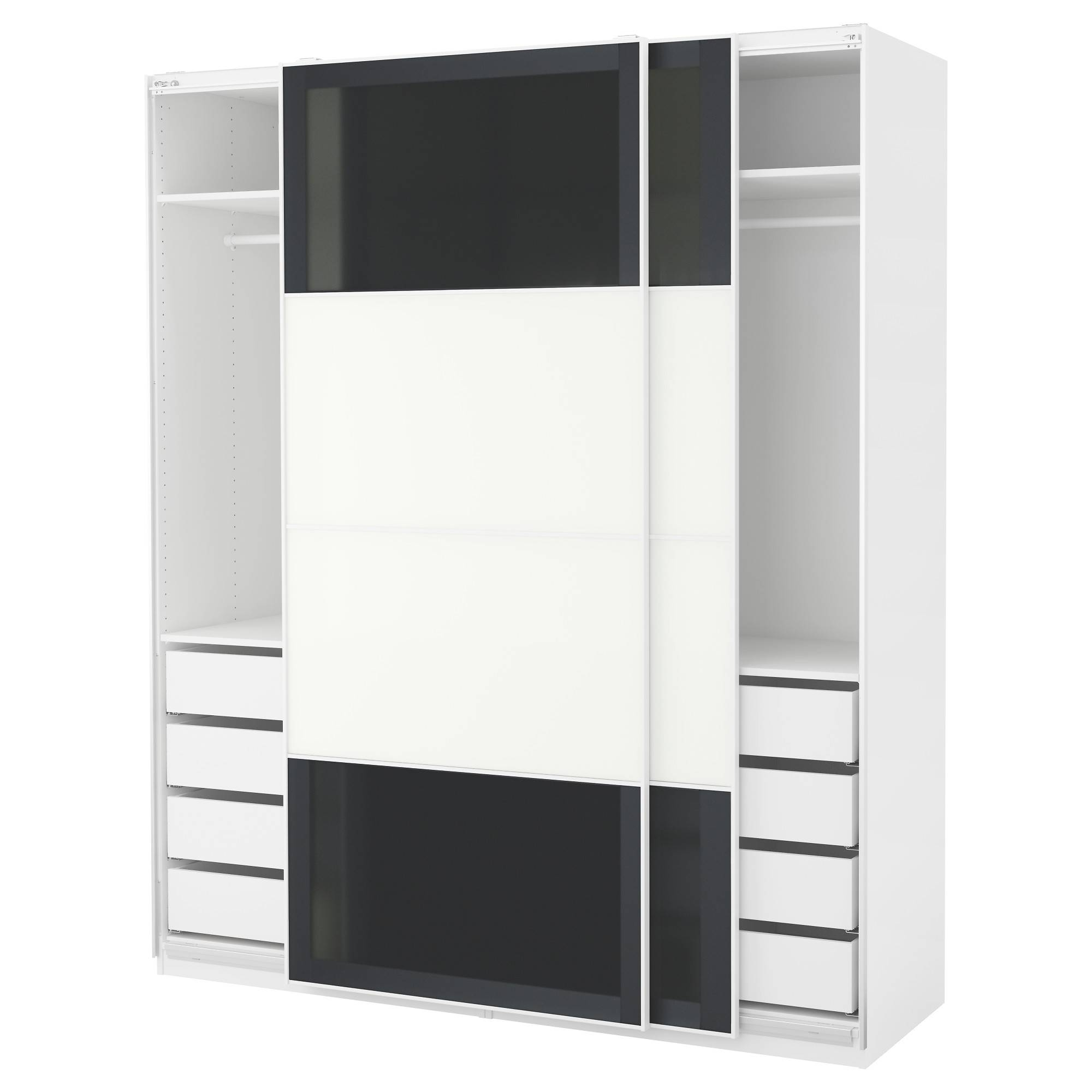 Wardrobes - Pax System - Ikea for Wall Wardrobes (Image 29 of 30)