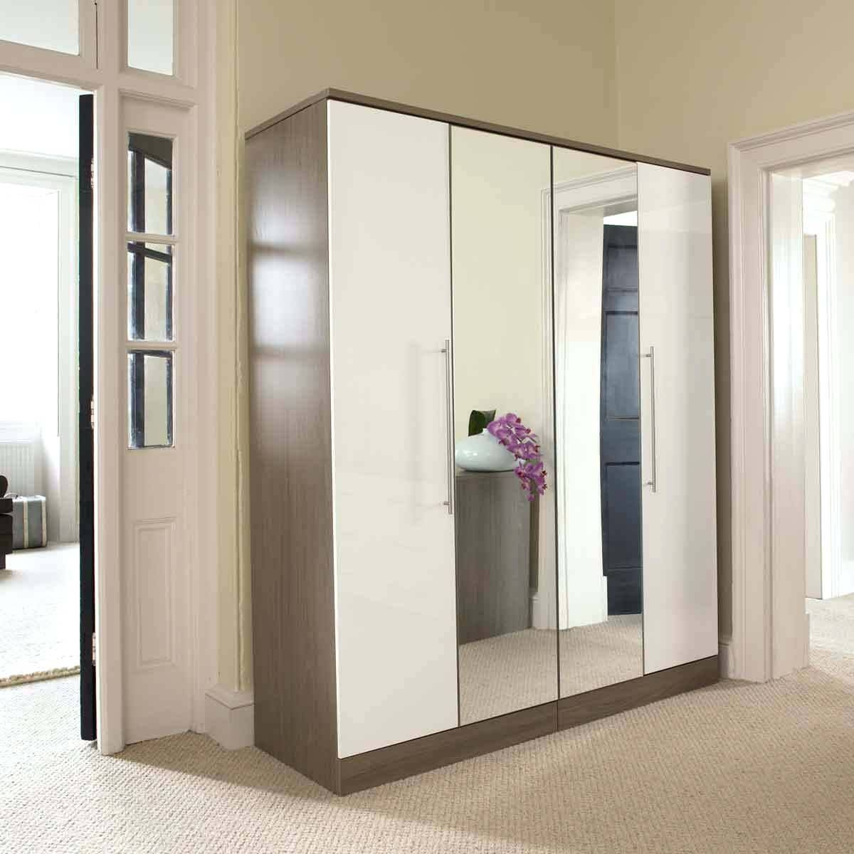 Wardrobes With Mirror – Shopwiz pertaining to Full Mirrored Wardrobes (Image 14 of 15)