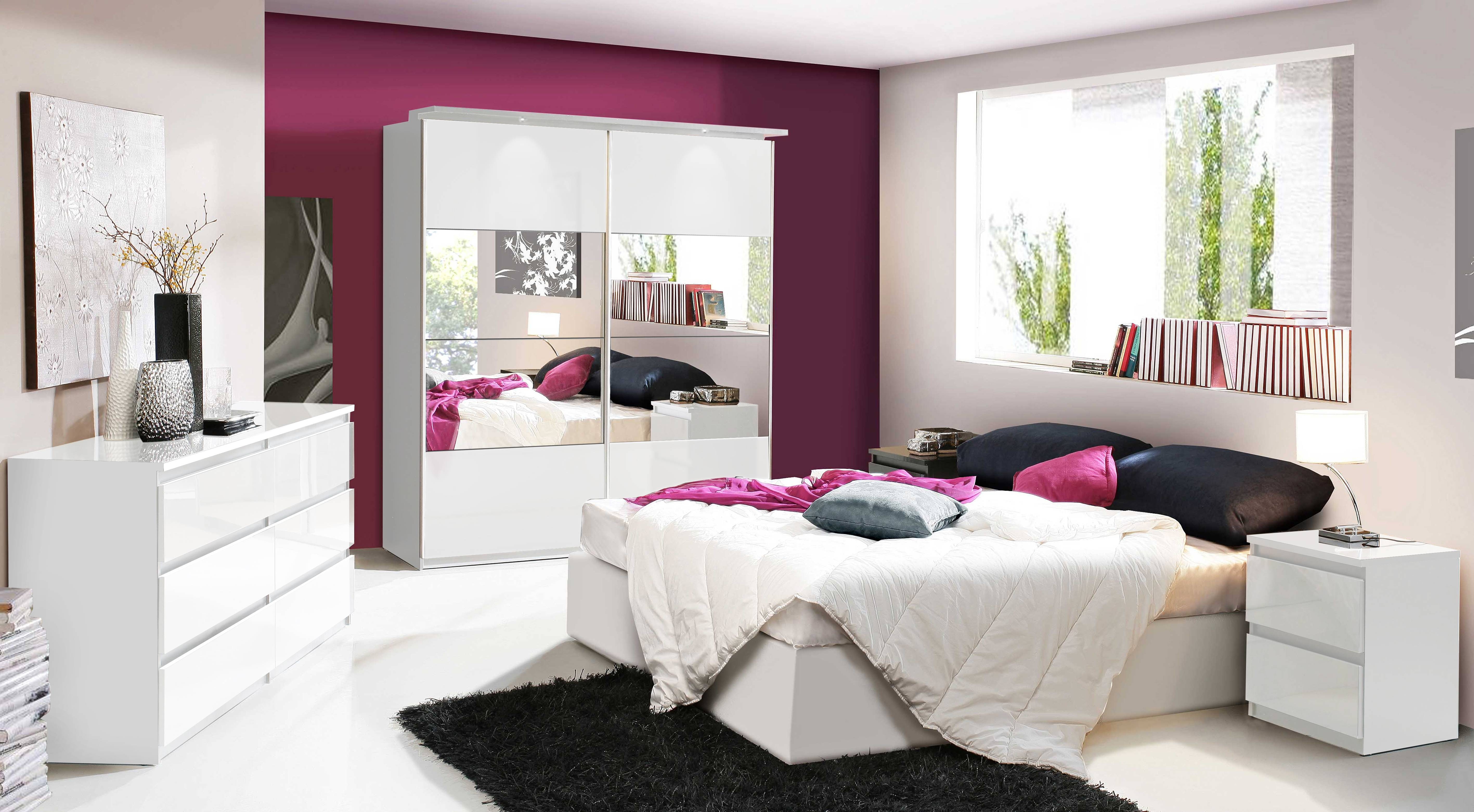 Displaying Photos Of White Gloss Wardrobes Sets View 6 Of 15 Photos