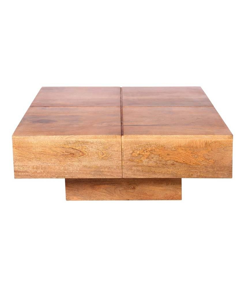 Western Wood End Table | Coffee Tables Decoration With Coffee Tables Solid Wood (View 17 of 30)