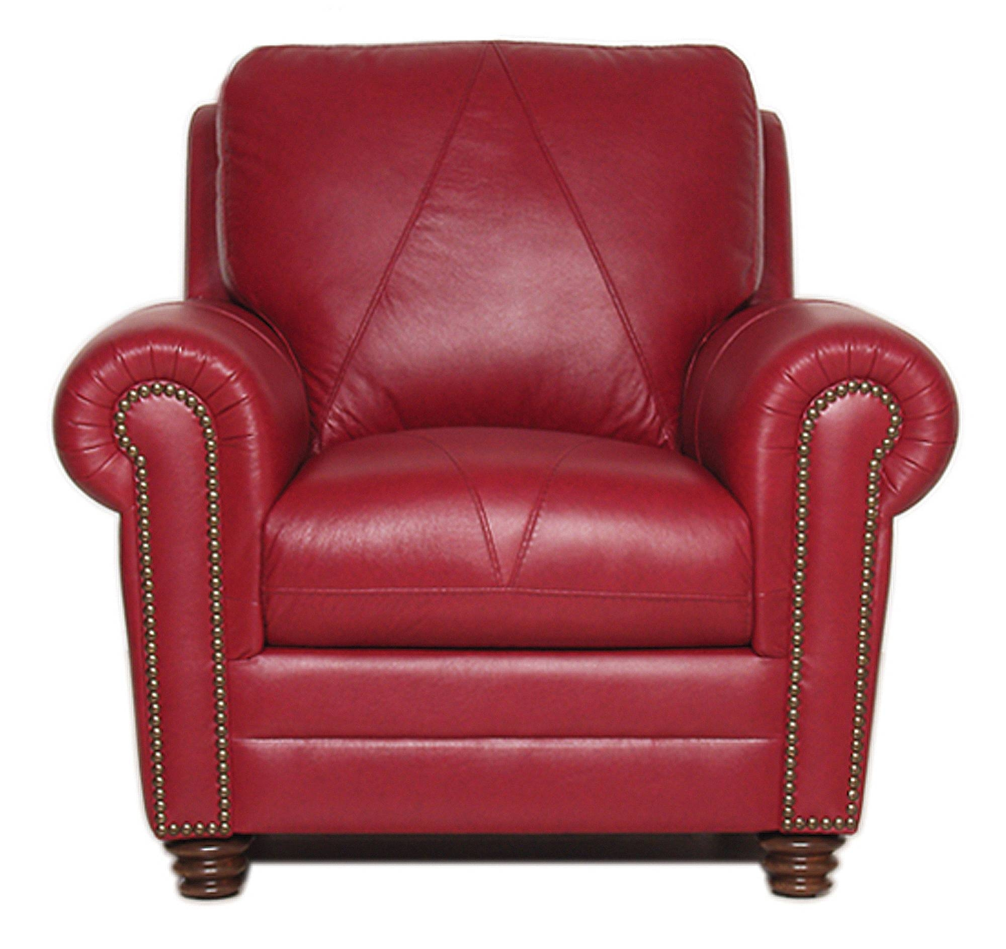 Weston Collection - Luke Leather Furniture intended for Red Sofas And Chairs (Image 30 of 30)
