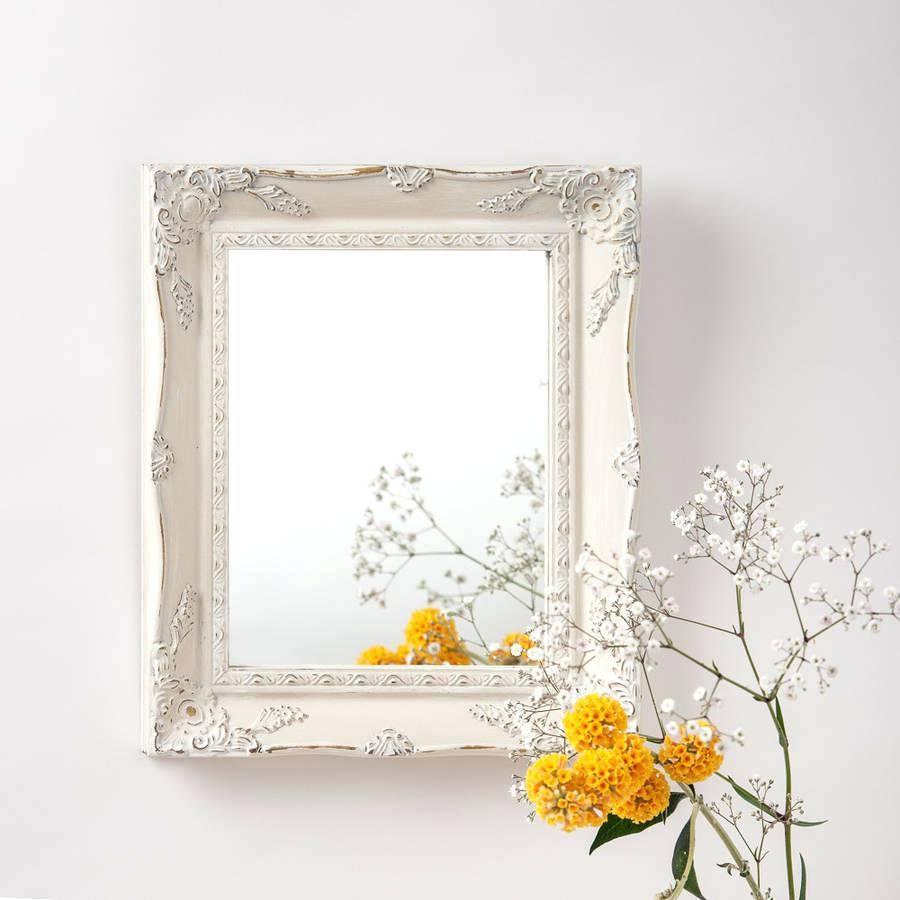 Popular Photo of Cream Antique Mirrors