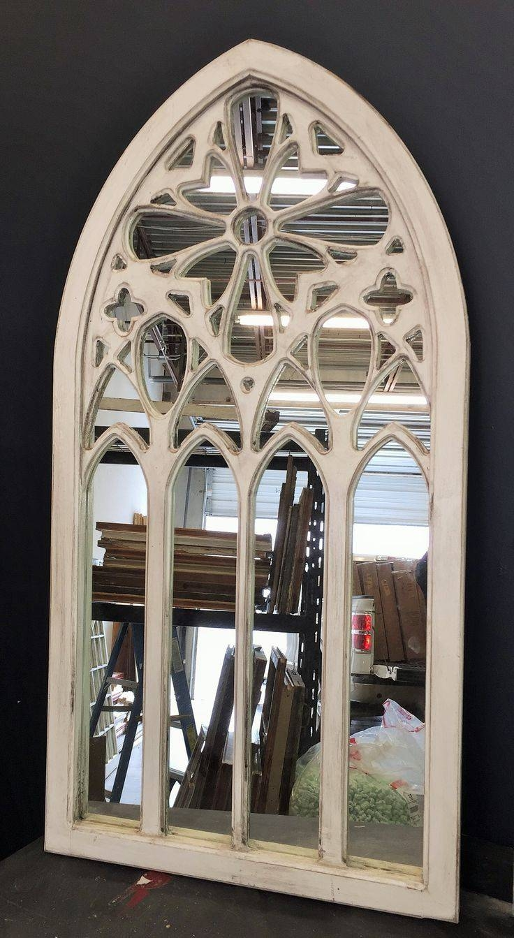 25 Photos White Arched Window Mirrors