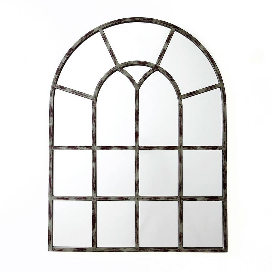 White Arched Window Mirror 29 Outstanding For White Arched Window with regard to Arched Window Mirrors (Image 21 of 25)